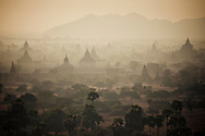 Buddhist temples of Bagan, Myanmar, Asia