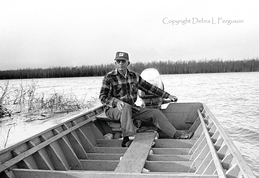 """Mr. Fred"" Couey was a lifelong scholar of the Mississippi River. Sitting in his wooden boat, he too looked as though he was built from tall, sturdy Delta trees."
