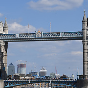 The iconic Tower Bridge on 1st September 2018.