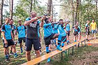 GARDEREN - 21-07-2016, teambuilding AZ, trainingskamp,