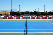 Championship Court and Stadium Seating at the Great Park Tennis Facility