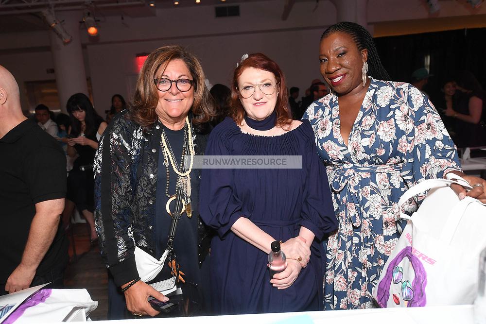 Fern Mallis, Tarana Burke attend Klarna STYLE360 NYFW Hosts S by Serena Fashion Show