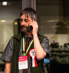Pictured: Leith Walk Council By-Election. Edinburgh City Council, Edinburgh, Scotland, 11 April 2019. Pictured:  David Don Jacobsen, Socialist Labour Party candidate. 25,526 residents are registered to vote in one of the most densely populated areas in Scotland under the Single Transferable Vote (STV) system. This is the first time in Scotland that an STV by-election has been needed to fill two vacancies in the same ward, held as a result of the resignation of Councillor Marion Donaldson. The election fielded 11 candidates, including the first ever candidate for the For Britain Movement in Scotland, Paul Stirling, founded by former UKIP leadership candidate Anne Marie Waters in March 2018.<br /> <br /> Sally Anderson   EdinburghElitemedia.co.uk
