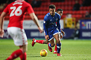 Aaron Holloway of Oldham Athletic during the EFL Sky Bet League 1 match between Charlton Athletic and Oldham Athletic at The Valley, London, England on 6 January 2018. Photo by Toyin Oshodi.