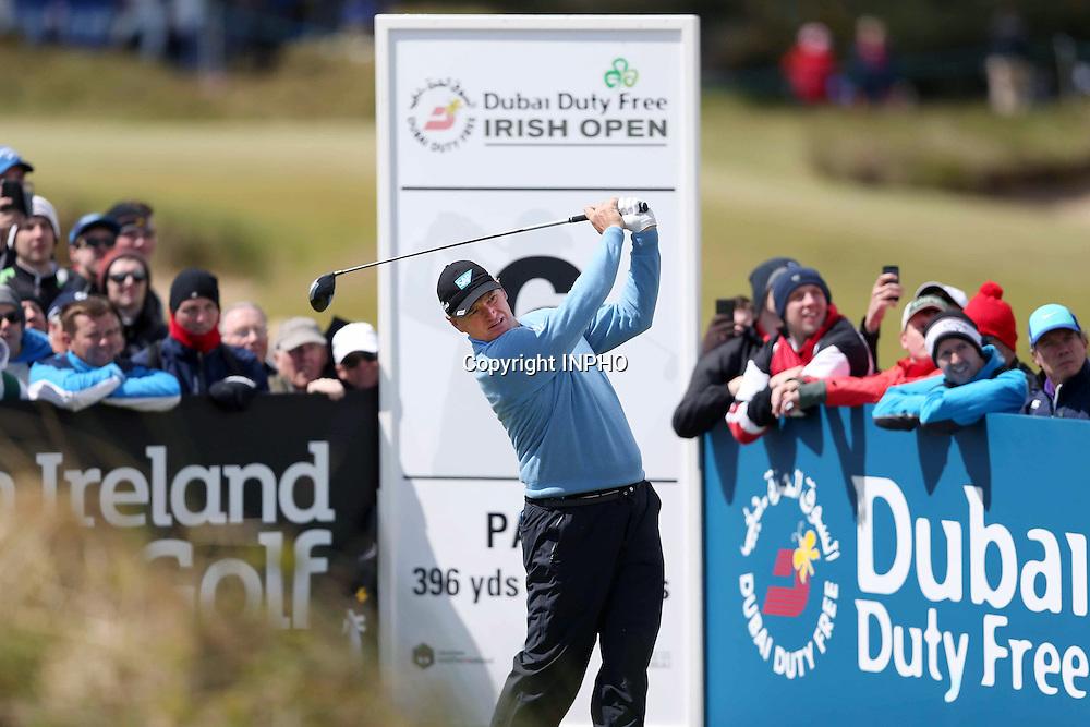 2015 Dubai Duty Free Irish Open Day 2, Royal County Down Golf Club, Co. Down 29/5/2015 <br /> Ernie Els<br /> Mandatory Credit &copy;INPHO/Presseye/Matt Mackey
