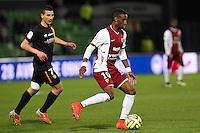 Bouna SARR - 18.04.2015 - Metz / Lens - 33eme journee de Ligue 1<br />Photo : Fred Marvaux / Icon Sport
