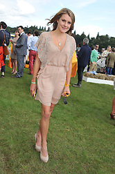The HON.ELIZA PEARSON at the 2012 Veuve Clicquot Gold Cup Final at Cowdray Park, Midhurst, West Sussex on 15th July 2012.