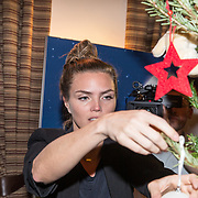 NLD/Amsterdam/20181206 - Sky Radio's Christmas Tree For Charity, Kim Feenstra