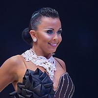 23 January 2010: Sara Casini performs during the Masters Bercy Latin and Ballroom (standard) Dancesport Championship 2010, at Palais Omnisports Paris Bercy, in Paris, France. .