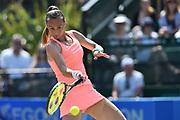 Magdalena RYBARIKOVA (SVK) during the women's semi-final at the Aegon Open Nottingham at Nottingham Tennis centre, Nottingham, United Kingdom on 17 June 2017. Photo by Jon Hobley.