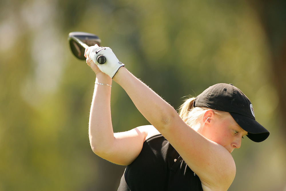 Morgan Pressel..2005 Kraft-Nabisco Championship.Second Round.Mission Hills CC.Rancho Mirage, CA.Friday March 25 2005..photograph by Darren Carroll. 03-25-05