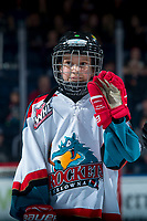 KELOWNA, CANADA - MARCH 10:  The Pepsi player of the game waves to the crowd on March 10, 2018 at Prospera Place in Kelowna, British Columbia, Canada.  (Photo by Marissa Baecker/Shoot the Breeze)  *** Local Caption ***