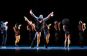 """performs during the Alvin Ailey American Dance Theater Dress Rehearsal of """"Deep"""" at the David H. Koch Theater in Lincoln Center in New York City, New York on June 10, 2016."""