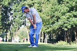 25.06.2015, Golfclub München Eichenried, Muenchen, GER, BMW International Golf Open, im Bild Marcel Siem (GER) schlaegt aus dem Rough // during the BMW International Golf Open at the Golfclub München Eichenried in Muenchen, Germany on 2015/06/25. EXPA Pictures © 2015, PhotoCredit: EXPA/ Eibner-Pressefoto/ Kolbert<br /> <br /> *****ATTENTION - OUT of GER*****