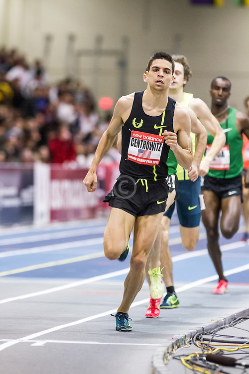 New Balance Indoor Grand Prix Track & FIeld:  men's 1000 meters Matthew Centrowitz