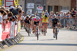 Marianne Vos (Rabo Liv) wins the sprint finish at the 108 km Stage 2 of the Lotto Belgium Tour 2016 on 8th September 2016 in Lierde, Belgium. (Photo by Sean Robinson/Velofocus).
