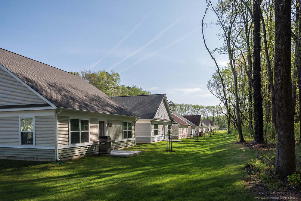 Exterior image of Cannery Village Rental Homes in Salisbury MD by Jeffrey Sauers of Commercial Photographics, Architectural Photo Artistry in Washington DC, Virginia to Florida and PA to New England