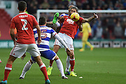 Nottingham Forest midfielder Henri Lansbury (10) during the EFL Sky Bet Championship match between Nottingham Forest and Queens Park Rangers at the City Ground, Nottingham, England on 5 November 2016. Photo by Jon Hobley.