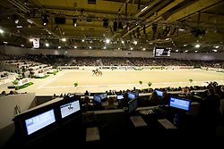 Overview dressage arena<br /> Reem Acra FEI World Cup™ Dressage Final 2012<br /> 'S Hertogenbosch 2012<br /> © Dirk Caremans