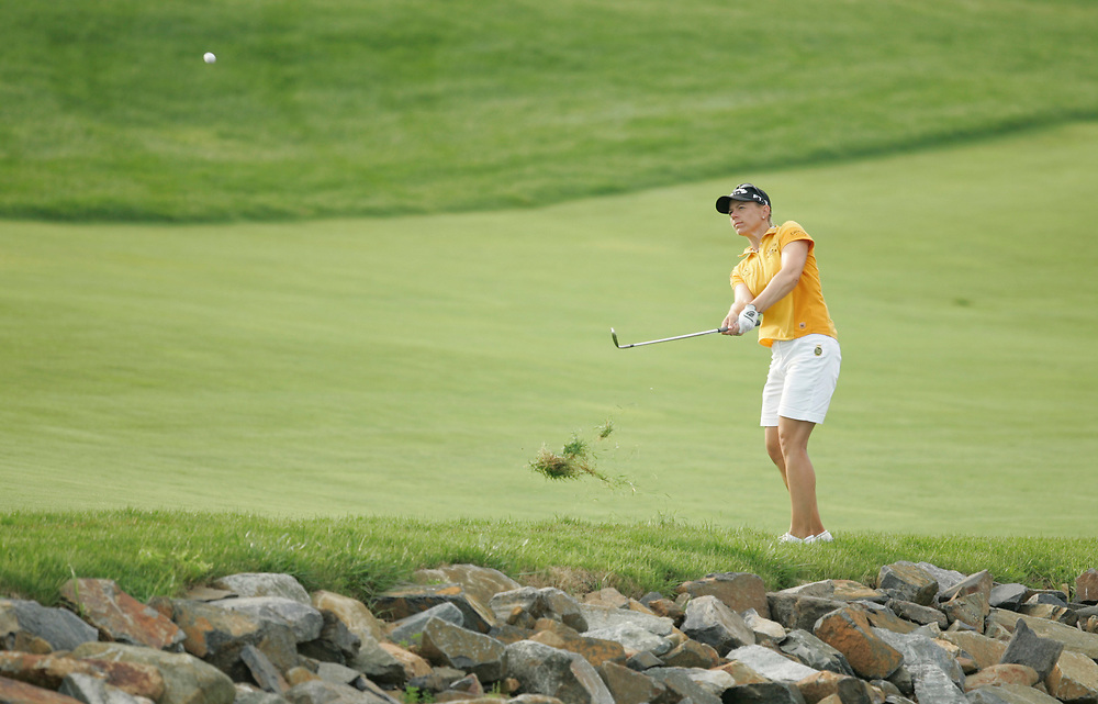 HAVRE DE GRACE , MARYLAND - JUNE 11, 2005<br /> Annika SORENSTAM during the third round of the 2005  McDonald's LPGA Championship held at Bulle Rock golf course in Havre De Grace, Maryland.