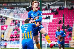 - Mandatory by-line: Ryan Crockett/JMP - 18/11/2017 - FOOTBALL - Aesseal New York Stadium - Rotherham, England - Rotherham United v Shrewsbury Town - Sky Bet League One