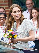 Kate Middleton Attends Action For Children Workshop