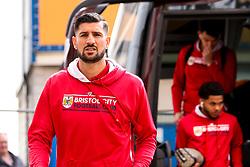 Eros Pisano of Bristol City arrives at Hull City - Mandatory by-line: Robbie Stephenson/JMP - 05/05/2019 - FOOTBALL - KCOM Stadium - Hull, England - Hull City v Bristol City - Sky Bet Championship