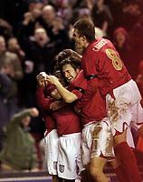Photo: Jed Wee.<br /> England v Uruguay. International Friendly. 01/03/2006.<br /> <br /> England's mob match winner Joe Cole.