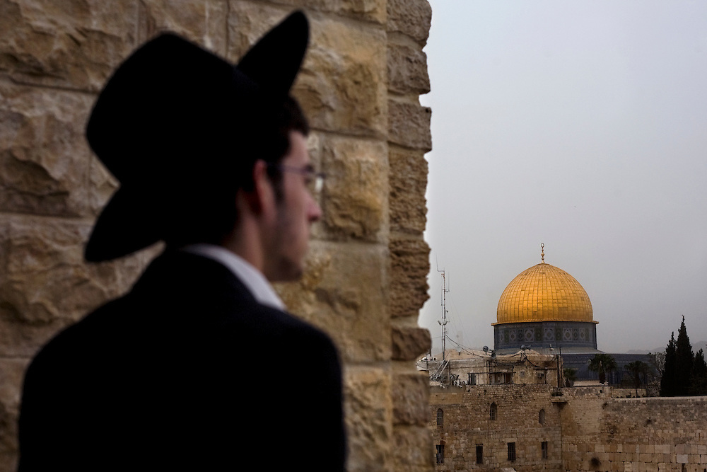 ultra orthodox..dome of the rock..old city..religious