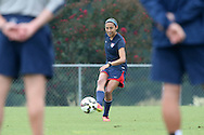 18 August 2014: Christen Press. The United States Women's National Team held a training session on Field 4 at WakeMed Soccer Park in Cary, North Carolina.