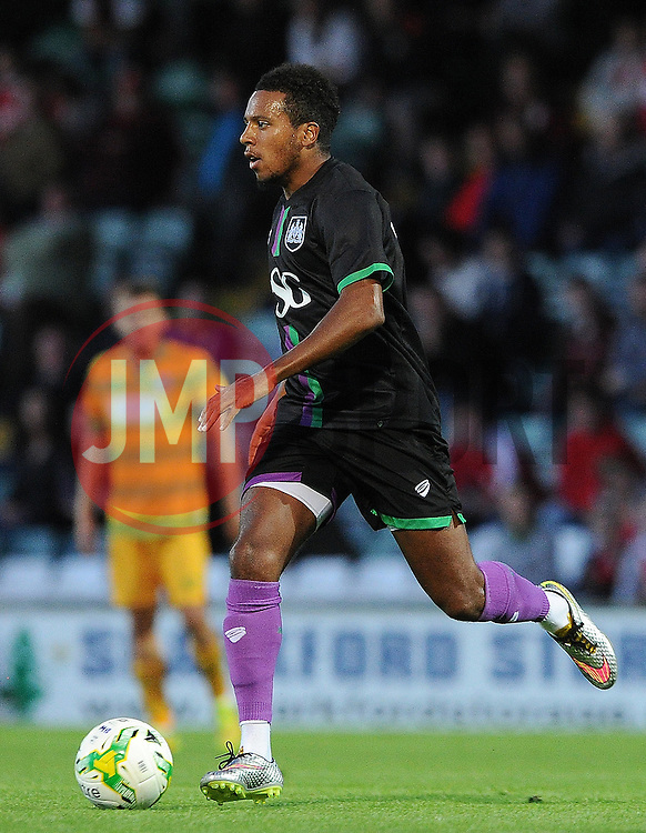 Bristol City's Korey Smith - Photo mandatory by-line: Harry Trump/JMP - Mobile: 07966 386802 - 30/07/15 - SPORT - FOOTBALL - Pre Season Fixture - Yeovil Town v Bristol City - Huish Park, Yeovil, England.