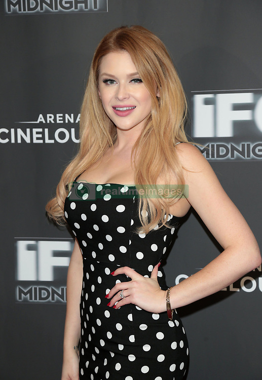 "Renee Olstead at the premiere of ""Feral"" held at the Arena Cinelounge in Hollywood.<br /> (Los Angeles, CA)"