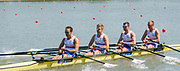 Plovdiv BULGARIA. 2017 FISA. Rowing World U23 Championships.  <br /> <br /> GBR BM4X. Bow.  LEASK, Harry, LAW, Rowan, GLENISTER, Harry and JOEL, Andrew<br />  Thursday AM. Heats 11:05:38  Thursday  20.07.17   <br /> <br /> [Mandatory Credit. Peter SPURRIER/Intersport Images].