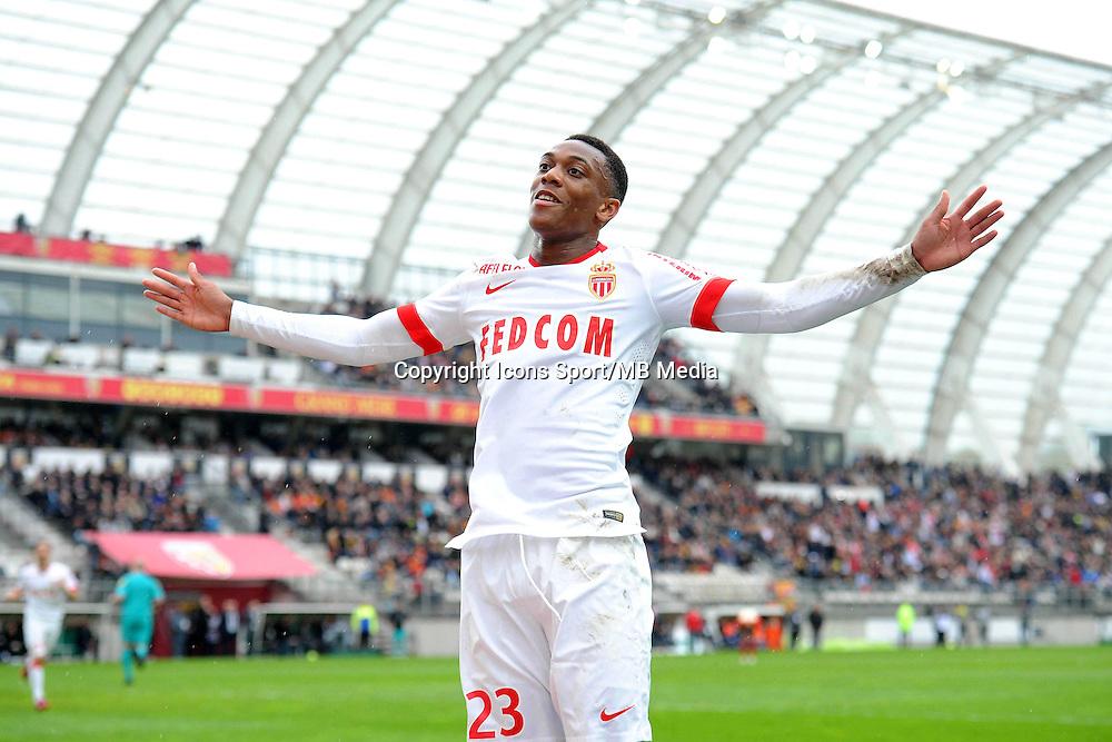 Joie Anthony MARTIAL - 26.04.2015 - Lens / Monaco - 34eme journee de Ligue 1<br />Photo : Nolwenn Le Gouic / Icon Sport