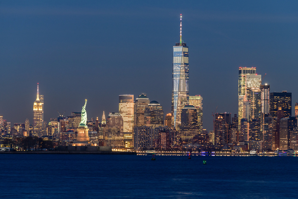 Lower Manhattan Skyline, New York City, NY