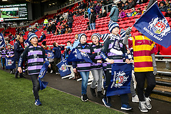 Super Sunday pitch parade - Rogan/JMP - 28/01/2018 - RUGBY UNION - Ashton Gate Stadium - Bristol, England - Bristol Rugby v Bedford Blues - Greene King IPA Championship.