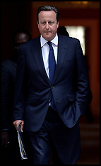 AUG 29 2013 David Cameron departs for HOC
