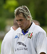 Oxford, England.<br /> <br /> IRB U21 Rugby World Cup - Iffley Road - Oxford <br /> 21.06.2003. Italy vs Japan, [Mandatory Credit: Peter SPURRIER/Intersport Images]  <br /> Sergio Parisso