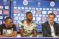 Jerome Roussillon / William Remy / Laurent Nicollin  - 29.06.2015 - Reprise de Montpellier - 2015/2016<br />Photo : Alexandre Dimou / Icon Sport