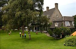 KNOKKE, BELGIUM - JULY-28-2005 - The Roger Nellends villa in Knokke-Zoute. (Photo © Jock Fistick)