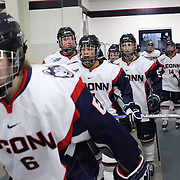 UConn Vs Boston University. Women's Ice Hockey. 2015