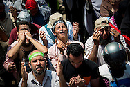 © Benjamin Girette / IP3 PRESS:  July 5th, 2013 : Pro Morsi supporters gathered in Nasr city for friday prayer, Cairo.