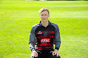 Royal London One-Day Cup kit portrait of George Bartlett during the Somerset County Cricket Club PhotoCall 2017 at the Cooper Associates County Ground, Taunton, United Kingdom on 5 April 2017. Photo by Graham Hunt.
