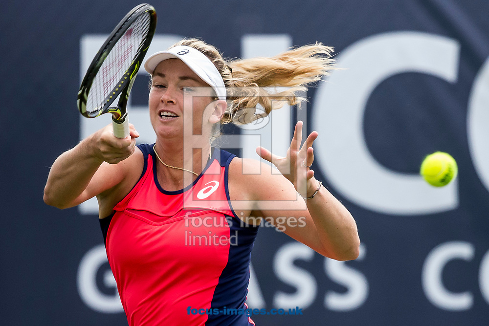 Coco Vandeweghe (USA) on day two of the Ricoh Open Tennis Tournament at the Autotron, Rosmalen, Netherlands.<br /> Picture by Joep Joseph Leenen/Focus Images Ltd +316 5261929<br /> 13/06/2017<br /> ***NETHERLANDS OUT***