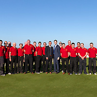 Scott Marr, Course Superintendent, Eric Trump and the course staff