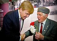 Koning bij herdenking 70 jaar Operatie Market Garden in Driel