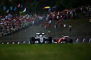 July 21-24, 2016 - Hungarian GP, Lewis Hamilton (GBR), Mercedes, Kimi Raikkonen (FIN), Ferrari