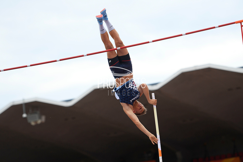 Thibaut Collet (FRA) competes in Pole Vault Men during the IAAF World U20 Championships 2018 at Tampere in Finland, Day 2, on July 11, 2018 - Photo Julien Crosnier / KMSP / ProSportsImages / DPPI