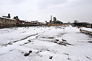 Casale Monferrato, Italy, feb.2010. The location where was the Eternit industry. Now destroyed.