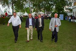 Pietercil Frans, Somers Lucien, De Vos I9ngmar, Mathijssen Jean Jacques, BEL<br /> CHIO Aachen 2001<br /> © Hippo Foto - Dirk Caremans<br /> 15/06/2001